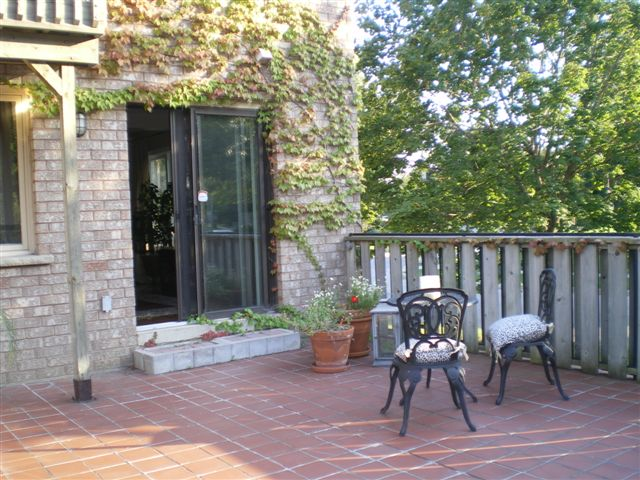 Summer patio at your home at your new home at the fabulouse Newport Marina