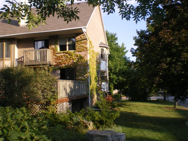 Corner unit freehold townhouse for sale at the Newport Marina, Stoney Creek